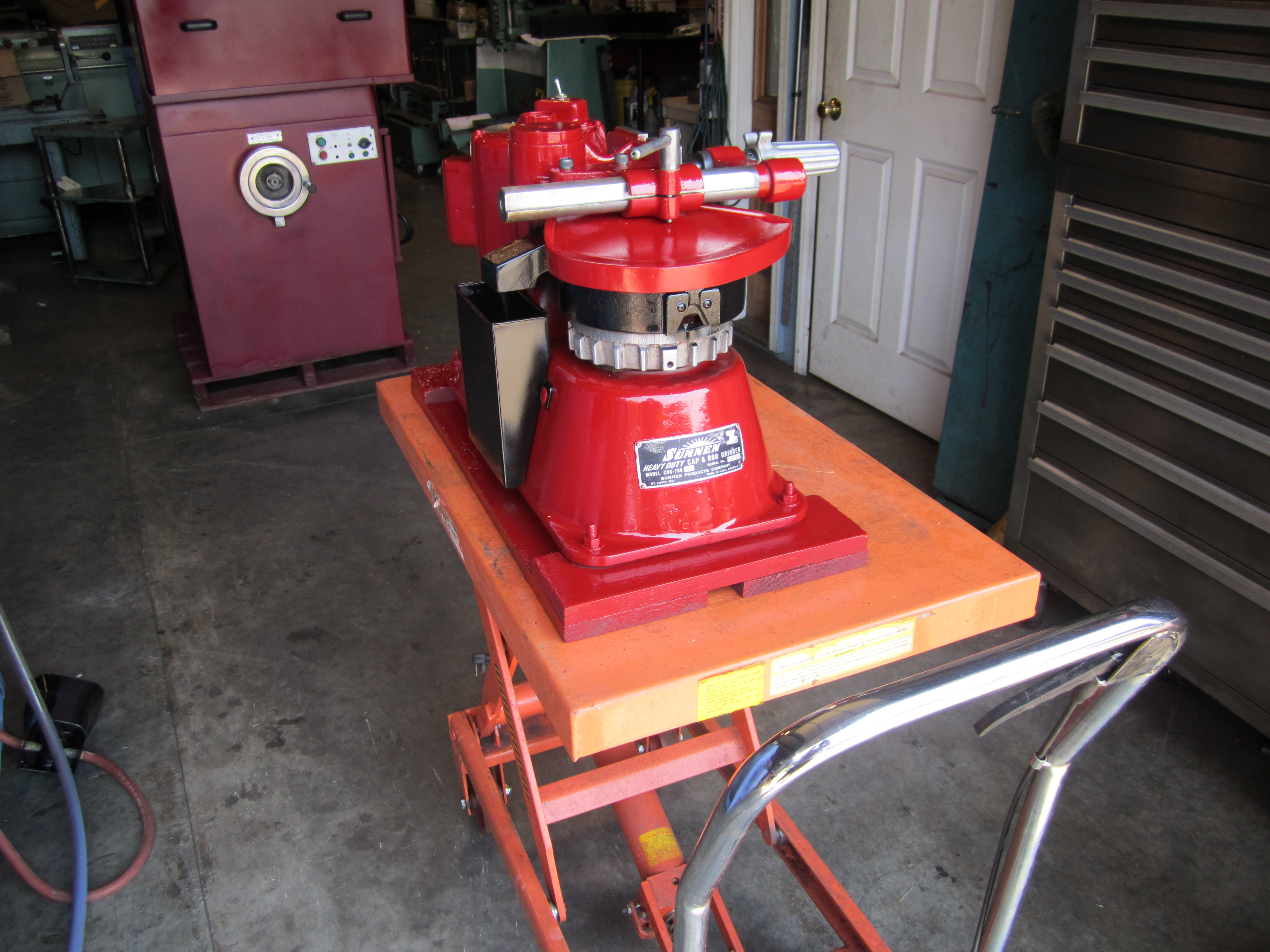 Jack scholler equipment automotive machine shop for Outboard motor machine shop